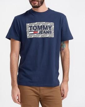 TJM GΡΑΦFITI LOGO TEE ΤΗΣ TOMMY HILFIGER - DM0DM05905