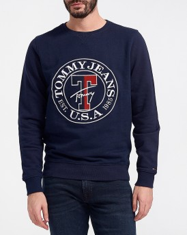 TJ LOGO PLAIN SWEATER ΤΗΣ TOMMY HILFIGER - DM0DM05684