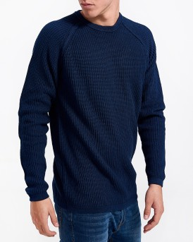 MACE CREW NECK SWEATER ΤΗΣ ONLY & SONS - 22007921 - ΜΠΛΕ