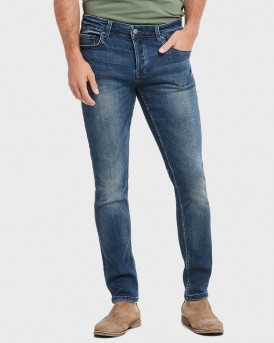 LOOM BLUE WASHED SLIM FIT JEANS ΤΗΣ ONLY & SONS - 22011281 - ΜΠΛΕ