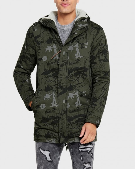 WARM PARKA COAT ΤΗΣ ONLY & SONS - 22010831