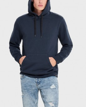 SOLID HOODIE SWEATER ΤΗΣ ONLY & SONS - 22010240 - ΜΠΛΕ