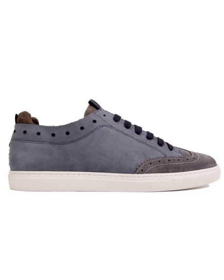 Suede Brogue Style Sneakers της NOBRAND - 14040.CABIN