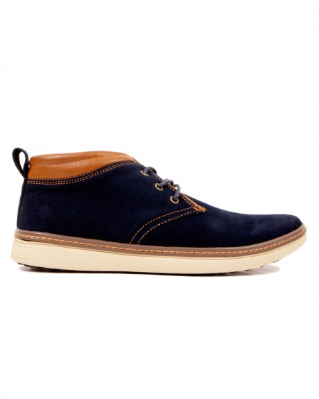 LEATHER SUEDE SHOES ΤΗΣ TXT FASHION - MLS-517S
