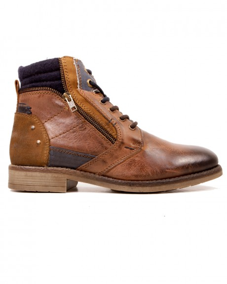 CLASSIC LEATHER WORKERS BOOTS ΤΗΣ UR1 - X20-X20-08 SCOTCH