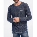 KNITTED USED EFFECT SWEATER ΤΗΣ SHINE - 2-80322