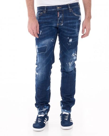 Slim Τζην Παντελόνι της DSQUARED2 - S71LB0240S30342