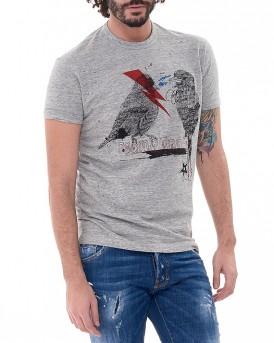 Melange Emposed T-Shirt της DSQUARED2 S74GD0185S22742