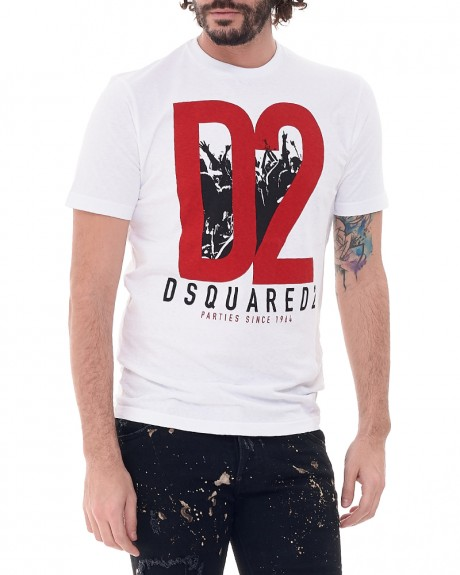 Stamp T-Shirt της DSQUARED2 S71GD0485S22999