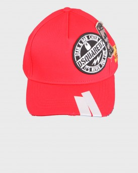 STREET FIGHTER PATCHED HAT ΤΗΣ DSQUARED2 - BCM0171 05C00001