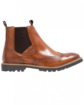 BOSWORTH WASHED TAN BOOTS ΤΗΣ BASE LONDON - BOSSWORTH