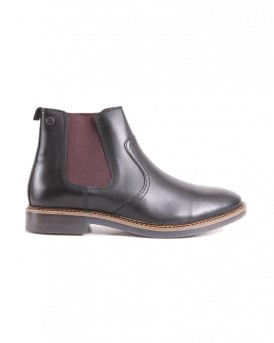 PIPER WAXY BLACK BOOTS ΤΗΣ BASE LONDON - PIPER