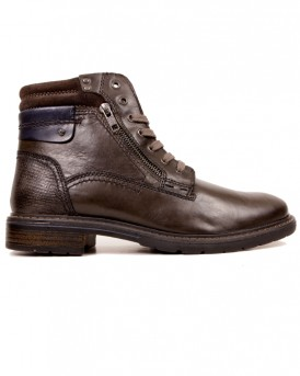 PATRICK LEATHER ZIP BOOTS ΤΗΣ TRVICT - TB17-G268-W17076-C