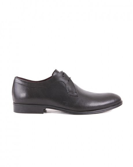 LEATHER FORMAL BLACK SHOES 193 STYLE ΤΗΣ DAMIANI - 193