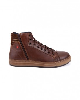 LEATHER ZIPPED BOOTS 1692 DEISGN ΤΗΣ ROBINSON - 1692