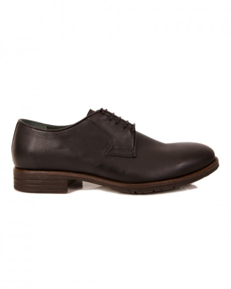 LEATHER HEEL SHOES ΤΗΣ ROBINSON - 1731