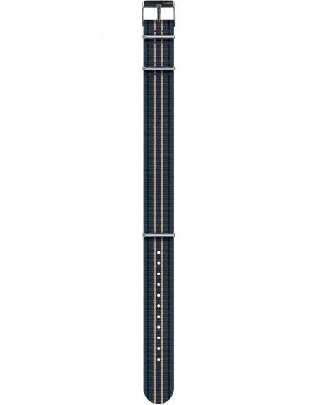 GROSGRAIN ΥΦΑΣΜΑΤΙΝΟ ΛΟΥΡΑΚΙ 18MM ΤΗΣ TIMEX - TW2R21200LF