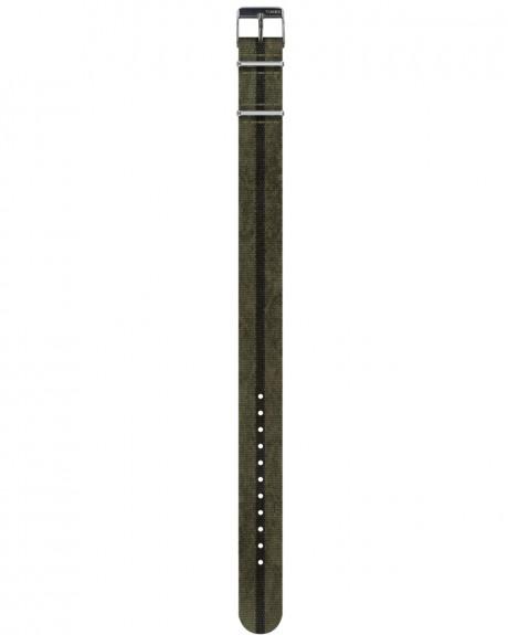 DIRTY WASH GROS ΥΦΑΣΜΑΤΙΝΟ ΛΟΥΡΑΚΙ 18MM ΤΗΣ TIMEX - ΤW7C26800LF