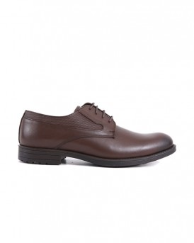 FORMAL LEATHER SHOES SA-01 STYLE ΤΗΣ ROOK PREMIUM - SA-01 - ΚΑΦΕ