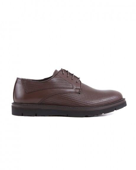 FORMAL LEATHER SHOES VEG-201 STYLE ΤΗΣ ROOK PREMIUM - VEG-201