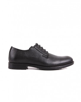 FORMAL LEATHER SHOES SA-02 STYLE ΤΗΣ ROOK PREMIUM - SA-02 - ΜΑΥΡΟ
