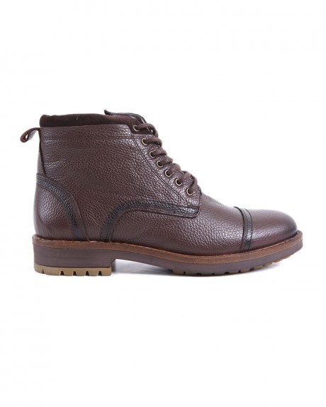 ZIPPED LEATHER BOOTS CE-12 STYLE ΤΗΣ ROOK PREMIUM - CE-12