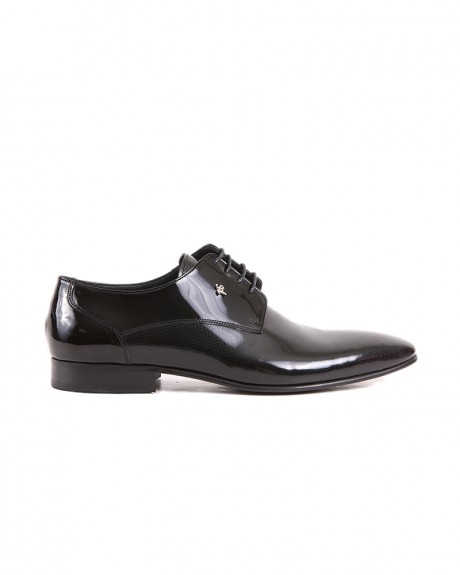 LEATHER SHINE FORMAL SHOES SY-09-105 STYLE ΤΗΣ ROOK PREMIUM - SY-09-105