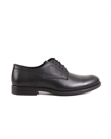 LEATHER OXFORD SHOES LND-07 STYLE ΤΗΣ ROOK PREMIUM - LND-07