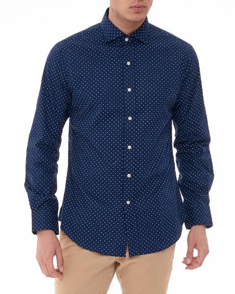 Cotton Mini Pua Slim πουκάμισο της POLO RALPH LAUREN - A04-XZ7H9XY7GK