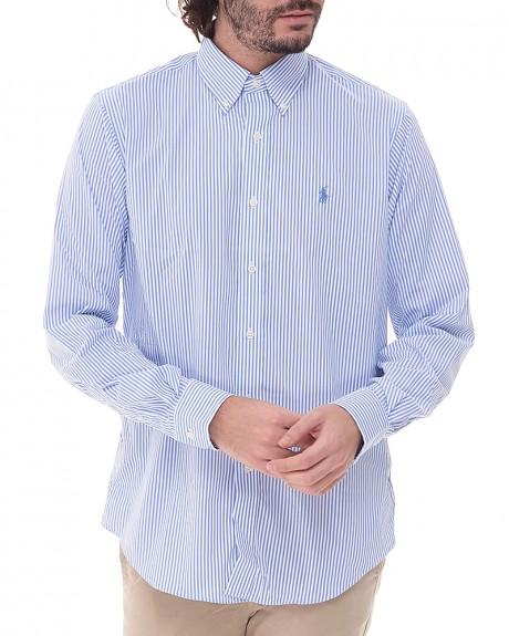 Ριγε Oversized Performance πουκάμισο της POLO RALPH LAUREN - A04-XZ7ISXZCWU