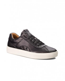 COURT100 LUX-SK-ATH BLACK SNEAKERS ΤΗΣ POLO RALPH LAUREN - 809710574002