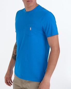 T-SHIRT M CLASSICS BLUE ΤΗΣ POLO RALPH LAUREN - 710704249040 - ΡΟΥΑ