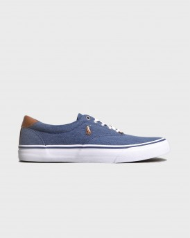 THORTON NE-SK-VLC NAVY CASUAL SHOES ΤΗΣ POLO RALPH LAUREN - 816747519002 - ΜΠΛΕ