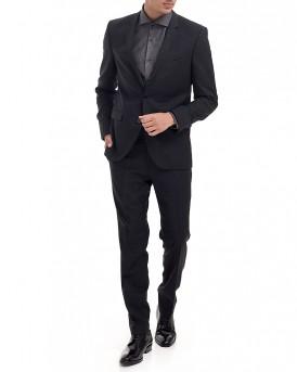 Κοστούμι της HUGO - 50374941 ADRIS4/HEILON - ΜΑΥΡΟ