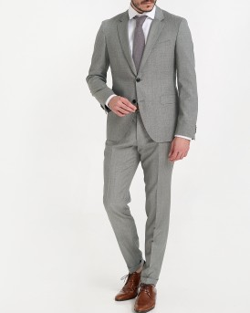 AUGUST/HIGGINS182 EXTRA SLIM FIT 2-PIECE ΚΟΣΤΟΥΜΙ ΤΗΣ HUGO - 50407960 AUGUST - ΓΚΡΙ