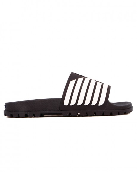 ΣΑΓΙΟΝΑΡΕΣ RUBBER SLIDERS WITH LOGO DETAIL ΤΗΣ EMPORIO ARMANI - Χ4Ρ077 XL273