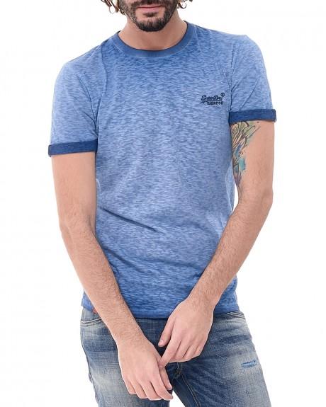 OL L LOW ROLLER TEE T-shirt της SUPERDRY - M10011TOF3