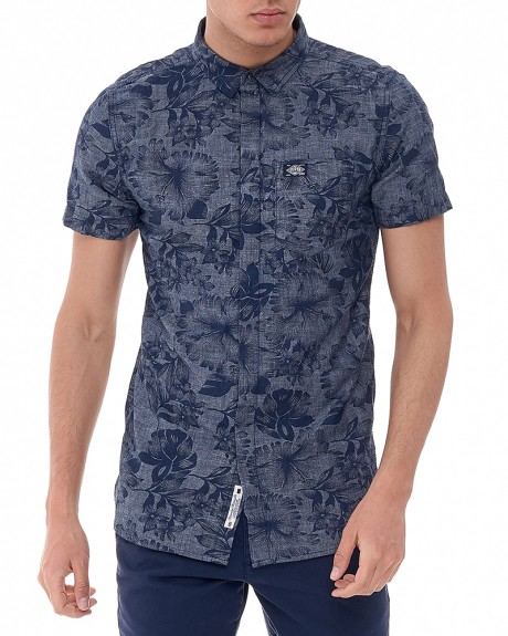 Ghost Button Down πουκάμισο της SUPERDRY - M40002RODS