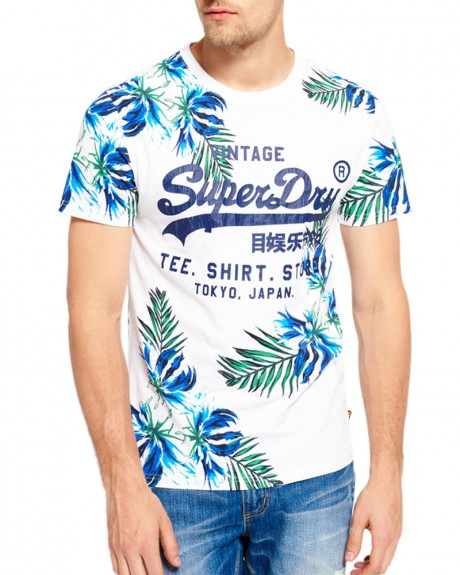 Surf Store T-shirt της SUPERDRY - M10008F0