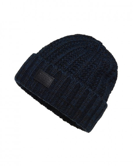 ADULTS S.D. BLOCK BEANIE ΣΚΟΥΦΟΣ ΤΗΣ SUPERDRY - M90003DP
