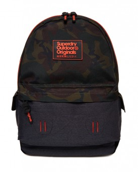BACKPACK CAMO INTER MONTANA RUCKSACK ΤΗΣ SUPERDRY - M91000JQ