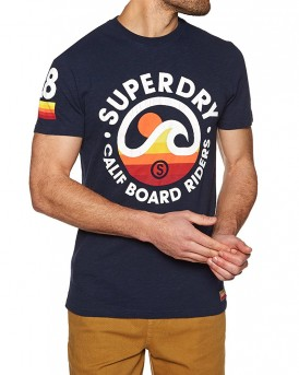 T-SHIRT CALI SURF CO TEE ΤΗΣ SUPERDRY - M10007FQ