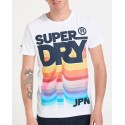 T-SHIRT RETRO MID WEIGHT TEE ΤΗΣ SUPERDRY - Μ10994AΤ