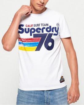 T-SHIRT 76 SURF ΤΗΣ SUPERDRY - M10100IU