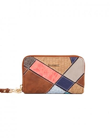 Mone Mini Zip Atlas πορτοφόλι της DESIGUAL - 71Y9YE9