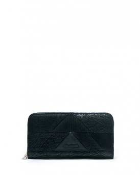 WALLET ZIP AROUND SNAKE PATCH ΤΗΣ DESIGUAL - 17WAYPEF