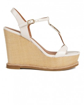 SANDALS WITH WOVEN WEDGE ΤΗΣ EMPORIO ARMANI - Χ3U068