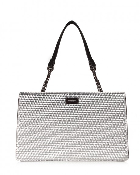 JAY SHOULDER BAG SILVER 3D ΤΣΑΝΤΑ ΩΜΟΥ ΤΗΣ PAUL'S BOUTIQUE - PBN126698