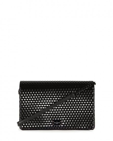 SONA EVENING BAG SILVER 3D TΣΑΝΤΑKI ΏΜΟΥ ΤΗΣ PAUL'S BOUTIQUE - PBN126707