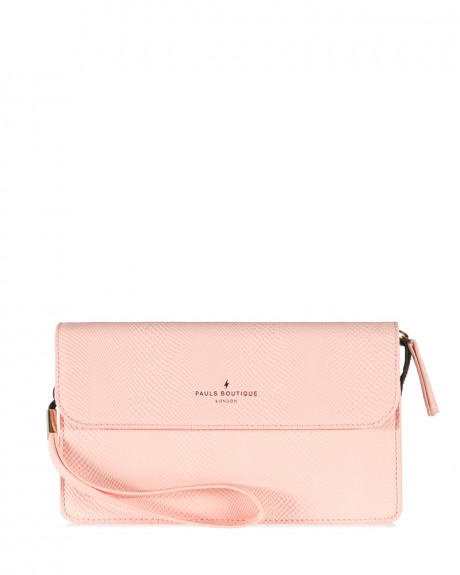 TΣΑΝΤΑ VERONICA CLUTCH PINK ΤΗΣ PAUL'S BOUTIQUE - VERONICA PBN127017